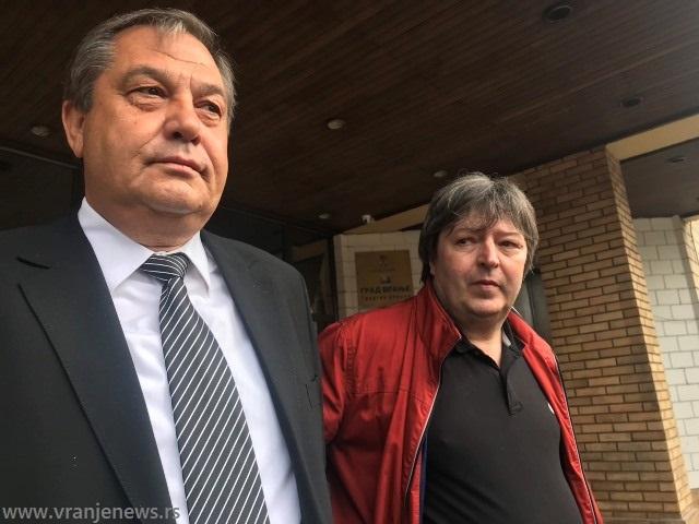 Momir Stojilković i Nenad Stošić. Foto VranjeNews
