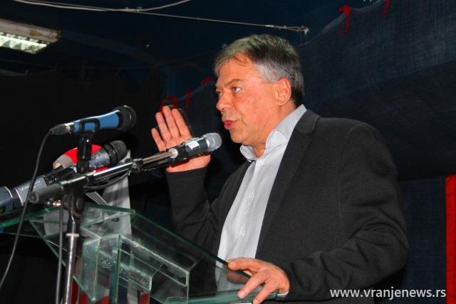 Zamera mu se što je o osetljivim pitanjima sa sednice GO SPS govorio za medije: Novica Tončev. Foto VranjeNews
