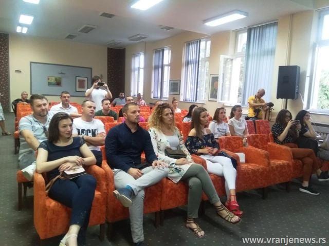 Detalj sa promocije. Foto VranjeNews