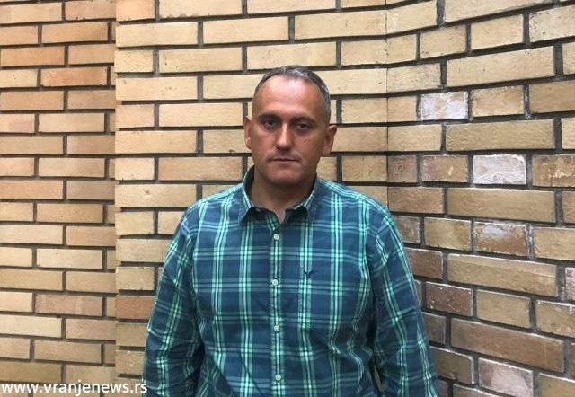 Do nedavno odbornik SNS-a, sada gradski većnik za poljoprivredu. Foto VranjeNews