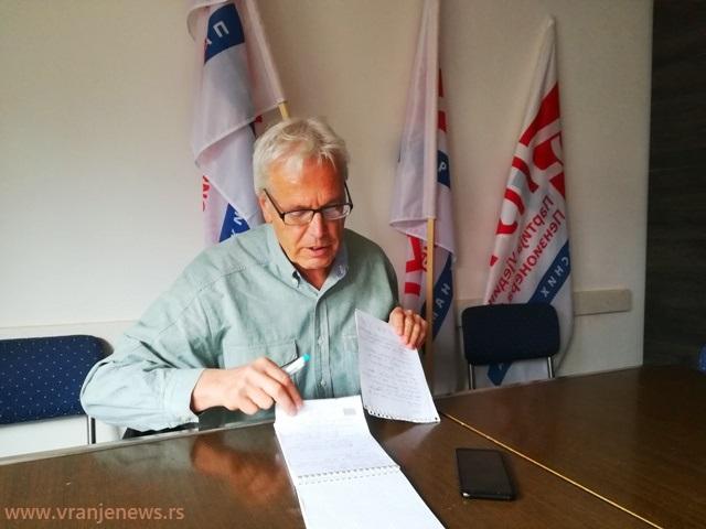 Gradimir Jovanović. Foto VranjeNews