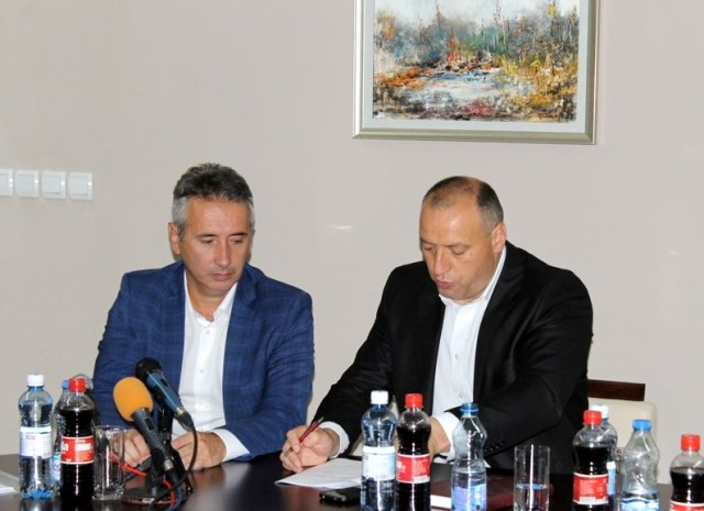 Označen početak radova. Foto Grad Vranje