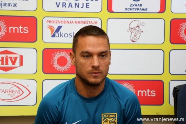 Pojačao Dinamo: Nikola Jaćimović. Foto VranjeNews