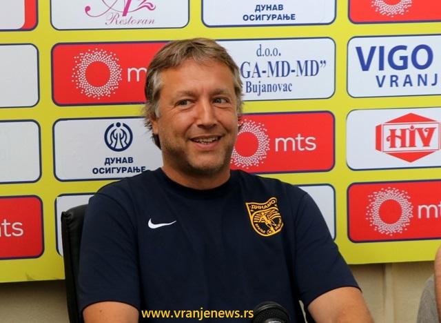 Svaki se igrač podredio kolektivu: trener Dinama Uroš Kalinić. Foto VranjeNews
