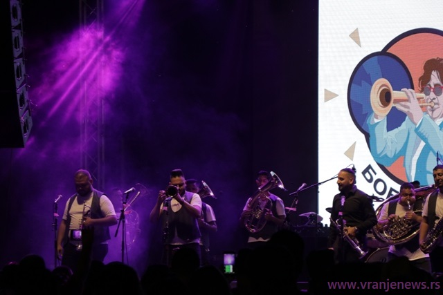 MArko Marković Brass band. Foto VranjeNews