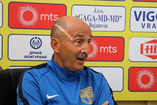 Jovanovićevo prvo ovosezonsko vođstvo ekipe sa klupe rezultiralo sa tri boda. Foto VranjeNews