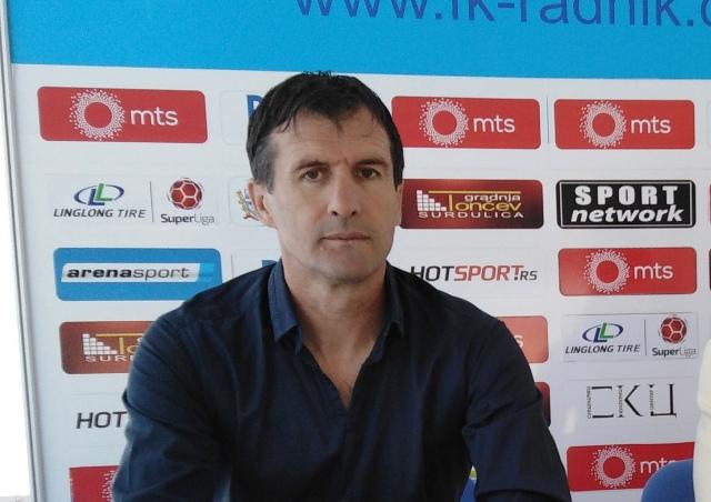 Šef stručnog štaba Radnika Nenad Vanić. Foto VranjeNews