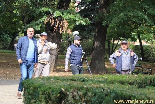 Počelo premeravanje. Foto VranjeNews