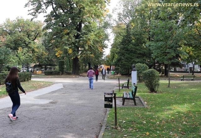Park će uskoro biti zatvoren zbog radova. Foto VranjeNews