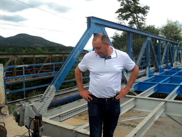 Rekonstruisan je i most na Banjštici. Foto S.T.