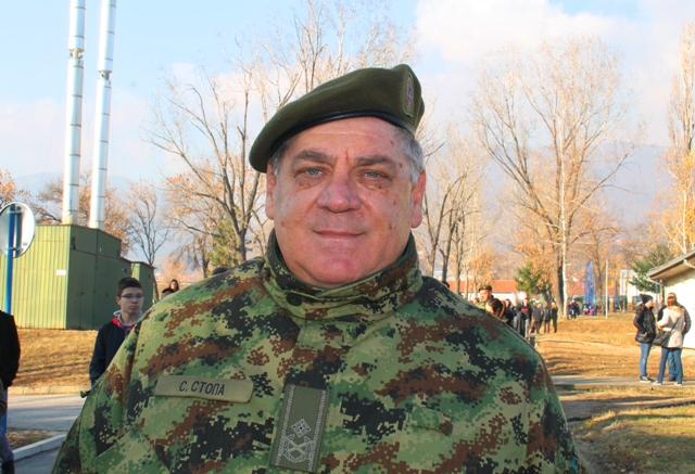 Komandant 4. brigade KoV brigadni general Slobodan Stopa. Foto VranjeNews