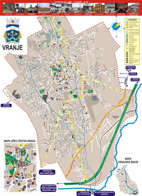 Nagrađena Turisticka Mapa Tov A Vranjenews