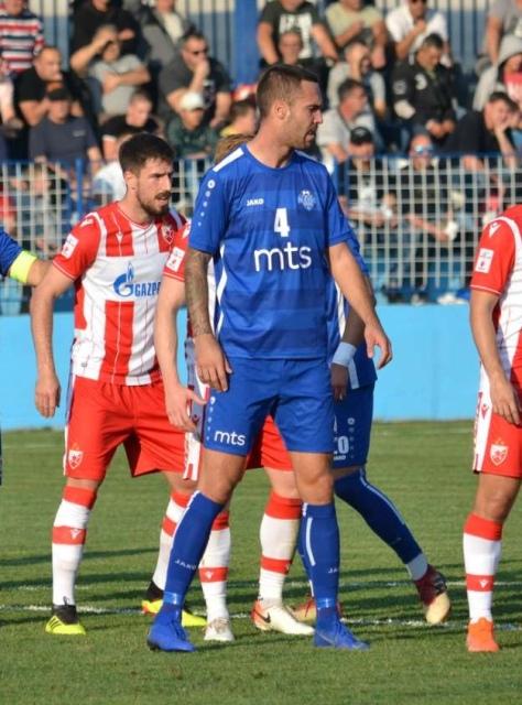 Žarko Marković na utakmici s Zvezdom. Foto D. Mirčev