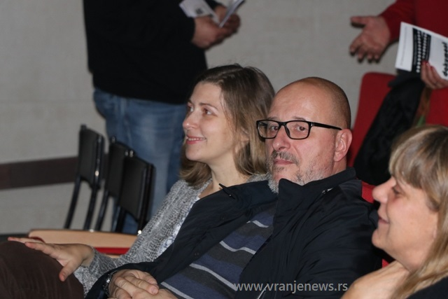 Predstavljeni i autori pojedinih filmova. Foto VranjeNews
