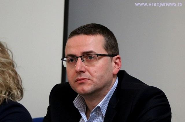 Bojan Trajković, sudija Osnovnog suda u Vranju. Foto VranjeNews