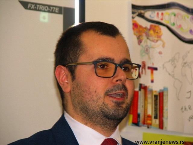 Darko Anačkov. Foto VranjeNews