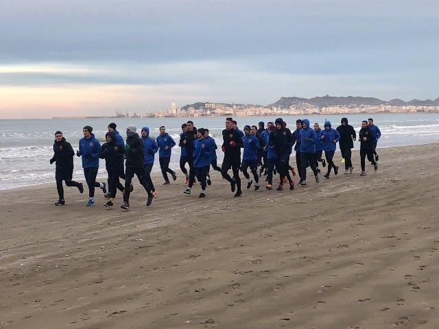 Fizička spremnost igrača podiže se na obalama Jadranskog mora. Foto FK Dinamo