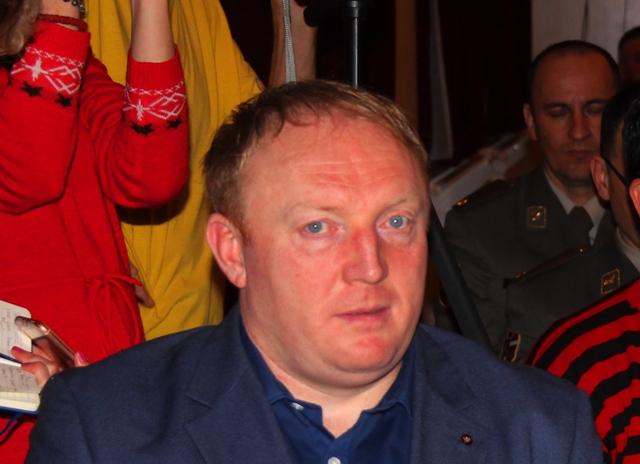 Nenad Krstić, predsednik opštine Trgovište, 173. na listi naprednjaka. Foto Vranje News