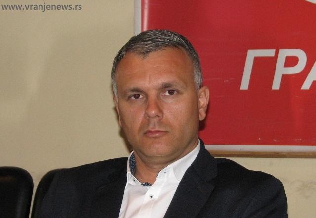 Predvodiće listu SPS-a za gradsku skupštinu: Srđan Dekić. Foto Vranje News