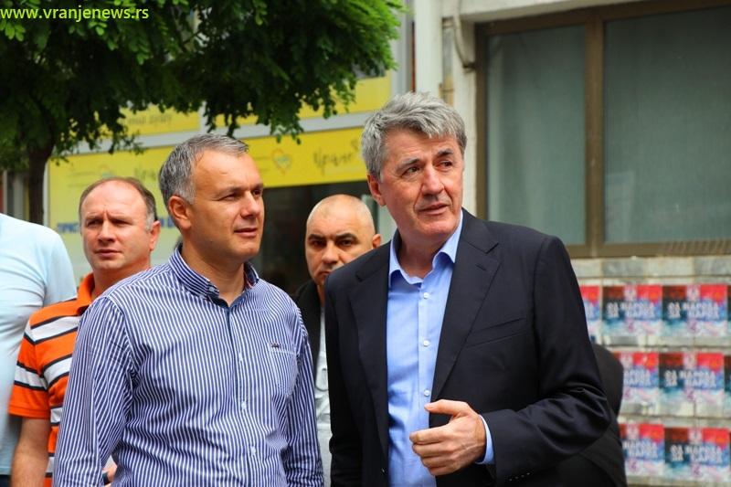Prvi na odborničkoj listi SPS-a je Srđan Dekić, potpredsednik lokalnih socijalista. Foto Vranje News