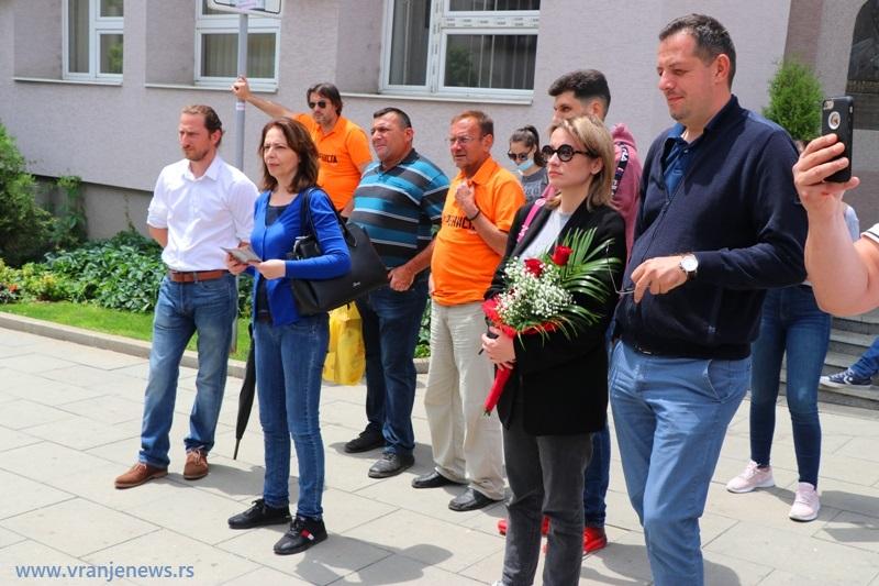 Neki od poslaničkih kandidata Suverenista. Foto Vranje News