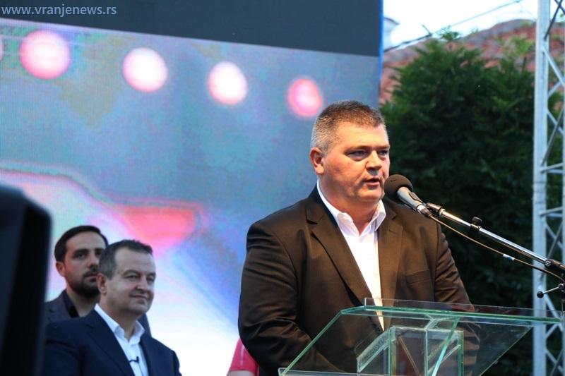 Palma tvrdi da će sigurno biti poslanik: Dejan Manić, lider JS Vranje, 42. na zajedničkoj listi SPS-Jedinstvena Srbija. Foto Vranje News