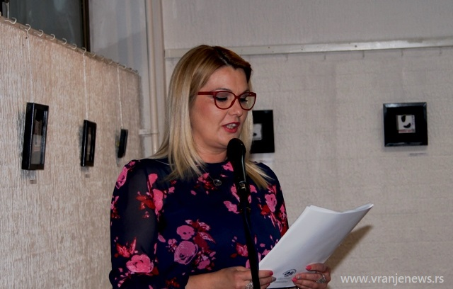 Pomažemo Romkinjama: Gordana Dimitrijević. Foto Vranje News