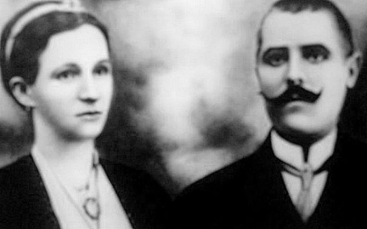 Milan Tasić zv. Mile Pile sa suprugom Ljubicom. Foto porodična arhiva Dudeta Đorđevića