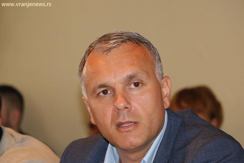Vranje nije ničiji politički plen, niti će biti: Srđan Dekić. Foto Vranje News