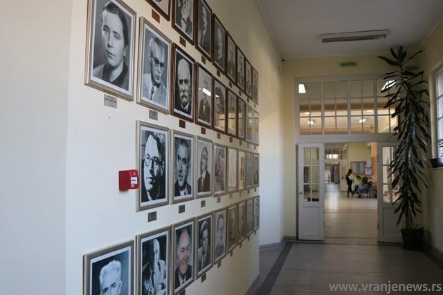 Gimnazija u Vranju danas. Foto Vranje News