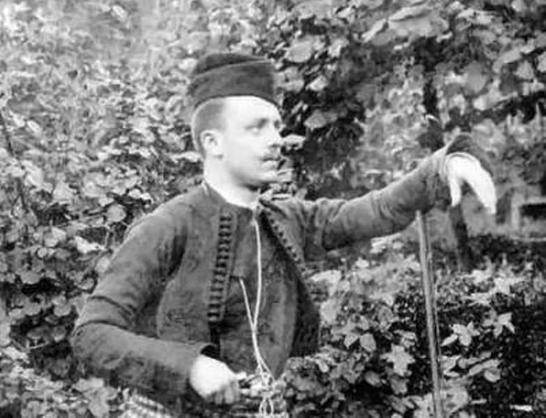 Rista, najmlađi sin Janje Vlajinca. Foto porodična arhiva Vlajinaca