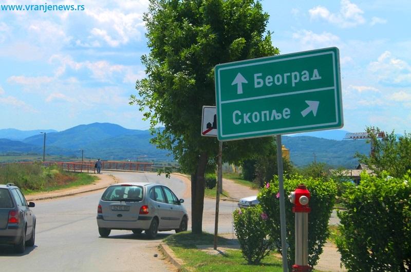Kraj Partizanskog puta - deo ulice kod južnog ulaza u Vranje. Foto Vranje News