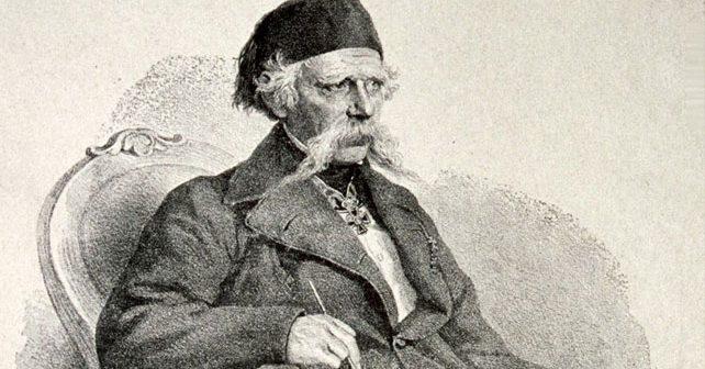 Vuk Karadžić. Foto Josef Kriehuber, 1865. (javno vlasništvo)