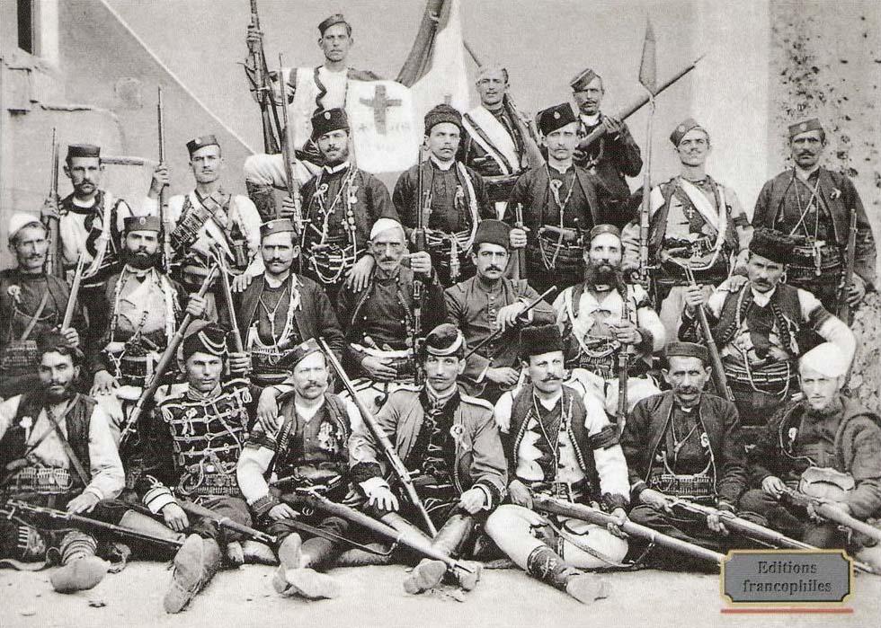 Srpske vojvode u Srbiji i Makedoniji. Foto wikiwand.com (Editions francophiles)