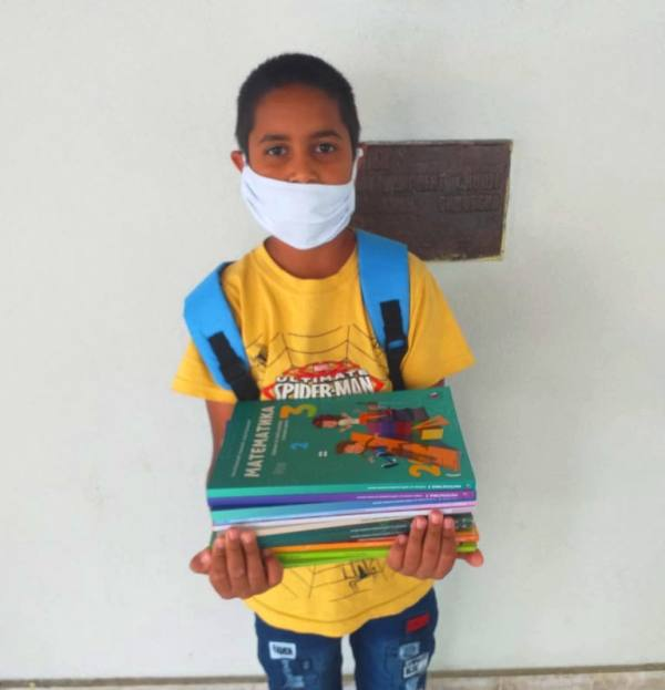 Značajna pomoć za romske đake. Foto lična arhiva