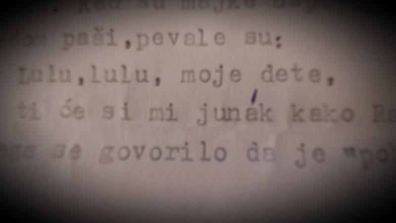 Foto Vranje News (detalj iz Zlatanovićevog rukopisa)