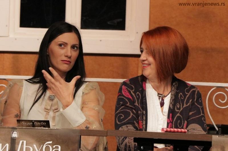 Kristina Janjić Stojanović i Radmila Đorđević. Foto Vranje News