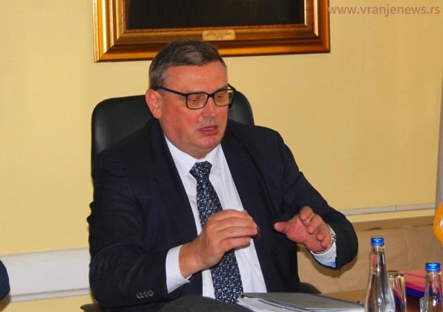 Trinaest godina na čelu Puteva Srbije: Zoran Drobnjak. Foto Vranje News