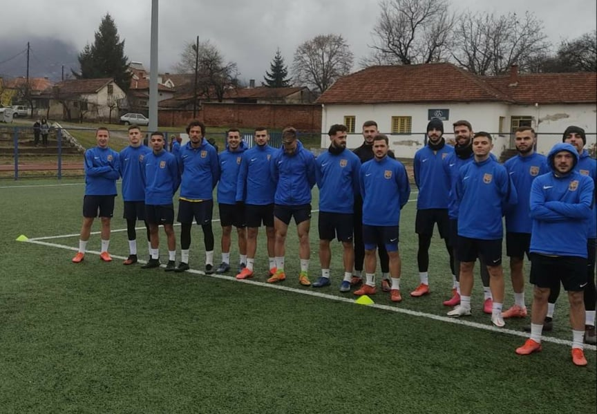 Na prozivci 25 prvotimaca. Foto FK Dinamo
