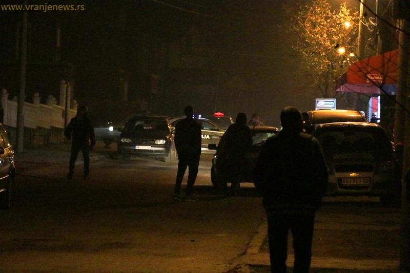 Kraj potere u Ulici Ive Andrića. Foto Vranje News