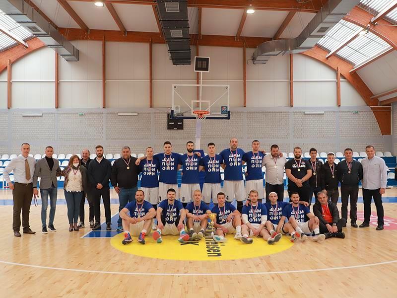 Novi drugoligaši: KK Radnik. Foto D. Mirčev