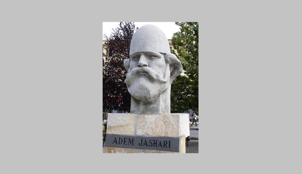 Bista Ademu Jašariju u Tirani. Foto Wikipedia
