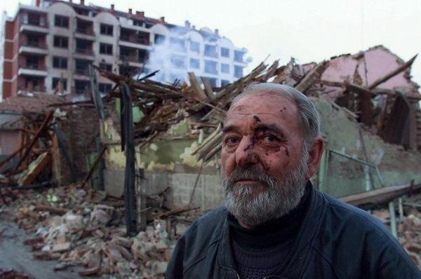NATO bombardovanje Aleksinca dogodilo se 6. aprila 1999. godine. Foto Srđan Ilić
