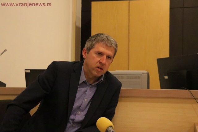 Dragan NIkolić trenutno je osnovni tužilac u Vladičinom Hanu. Foto Vranje News