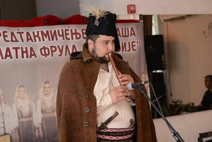 Filip Savić iz Svrljiga. Foto NU