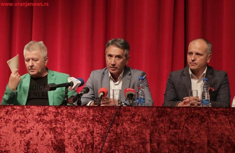 Za festival obezbeđeno 5 miliona dinara: gradonačelnik Vranja Slobodan Milenković. Foto Vranje News