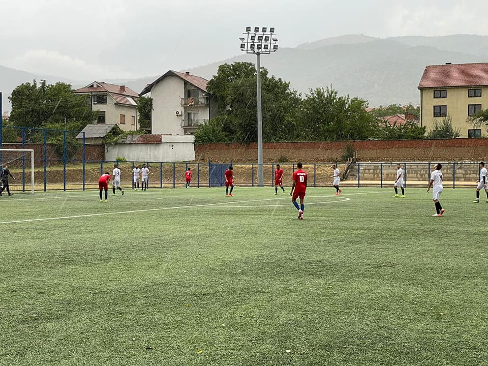Detalj sa utakmice Radnički - Lugina. Foto KF Lugina