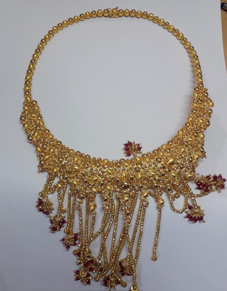 Zlatna ogrlica od 122 grama. Foto UC