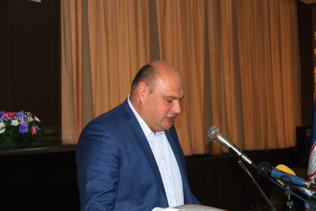 Zahvalnost penzionerima: Branislav Trajković. Foto VranjeNews