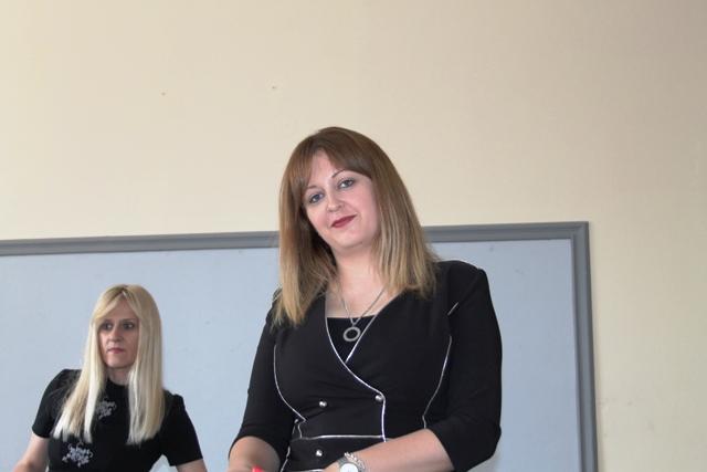 Dijana Kostić, odeljenjski starešina 4/6. Foto VranjeNews